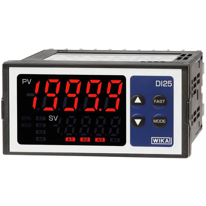 Digital Panel Indicators : Digital indicator for panel mounting di wika south