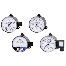 Differential pressure gauges: DELTA-line, now even more robust
