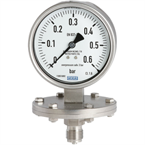 Diaphragm pressure gauge, model 432.50